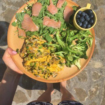 Zöldséges reggeli alternatíva