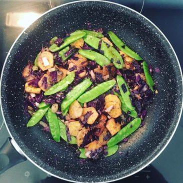 Mindig törekszem arra, hogy színes legyen a tányérunk